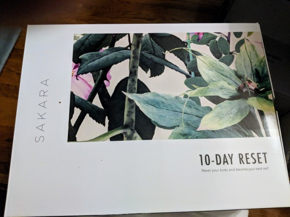 10 Day Reset box